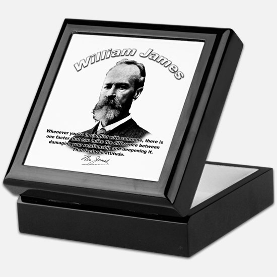 William James 02 Keepsake Box