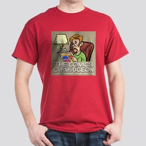 Comics Curmudgeon logo Dark T-Shirt