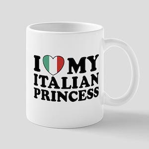 I Love My Italian Princess Mug