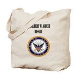 USS ALBERT W. GRANT Tote Bag