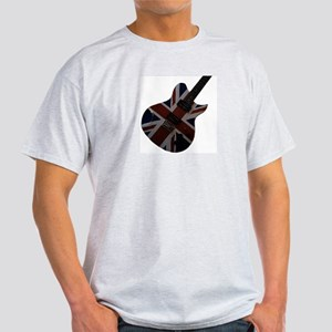 Union Jack Electric Guitar Light T-Shirt