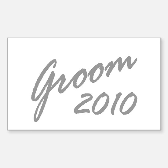 GROOM Rectangle Decal