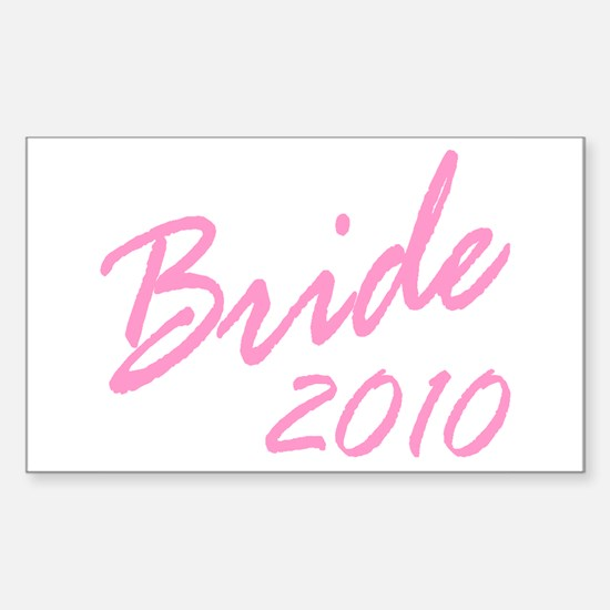 BRIDE Rectangle Decal