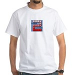 Second Funniest Podcast White T-Shirt