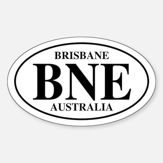BNE Brisbane Oval Stickers