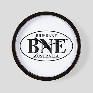 BNE Brisbane Wall Clock
