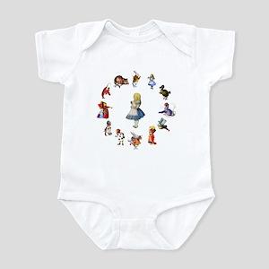 ALL AROUND ALICE Infant Bodysuit