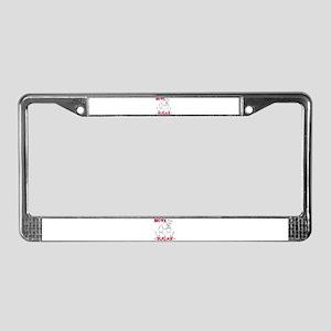 HEROIN BROWN SUGAR License Plate Frame