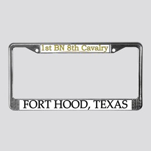 1st bn 8th cav License Plate Frame