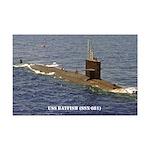 USS BATFISH Mini Poster Print
