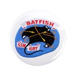 """USS BATFISH 3.5"""" Button"""