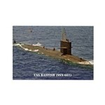 USS BATFISH Rectangle Magnet (100 pack)