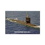 USS BATFISH Rectangle Magnet (10 pack)