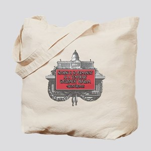 MILTON FRIEDMAN ON GOVERNMENT Tote Bag