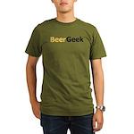 Bubbly Beer Geek Organic Men's T-Shirt (dark)