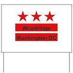 Woodridge - D.C . Flag Inspir Yard Sign