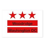 Woodridge - D.C . Flag Inspir Postcards (Package o