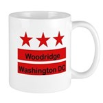 Woodridge - D.C . Flag Inspir Mug