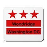 Woodridge - D.C . Flag Inspir Mousepad