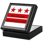 Woodridge - D.C . Flag Inspir Keepsake Box