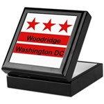 Woodridge - D.C . Flag Inspir Keepsake Box