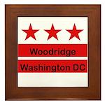 Woodridge - D.C . Flag Inspir Framed Tile