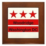 Woodridge - D.C . Flag Inspir Framed Tile