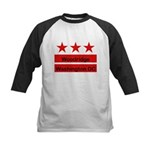 Woodridge - D.C . Flag Inspir Kids Baseball Jersey