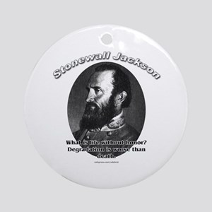 Stonewall Jackson 01 Ornament (Round)