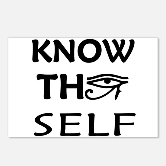 Know Thy Self Postcards (Package of 8)