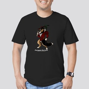 Parcquer De Leon Men's Fitted T-Shirt (dark)