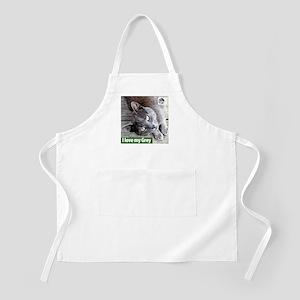Grey Cat BBQ Apron