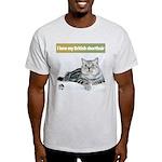 British Shorthair Cat Ash Grey T-Shirt