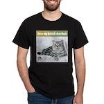 British Shorthair Cat Black T-Shirt