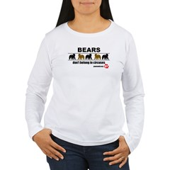 Bears Don't Belong in Circuses T-Shirt