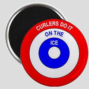 Curling Rocks Magnet