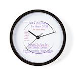 Buday for Mayor Wall Clock