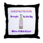 Buday for Mayor Throw Pillow