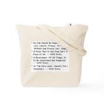 Buday for Mayor Tote Bag