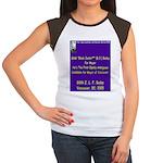 Buday for Mayor Women's Cap Sleeve T-Shirt