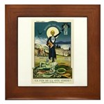 Swiss Absinthe Prohibition Framed Tile