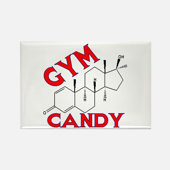 GYM CANDY Rectangle Magnet