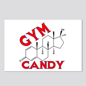 GYM CANDY Postcards (Package of 8)