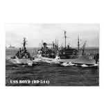 USS BOYD Postcards (Package of 8)