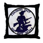 USS BOYD Throw Pillow