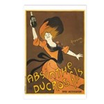 Absinthe Ducros Postcards (Package of 8)