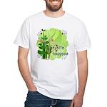Pilates Svelte Happens White T-Shirt