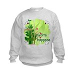 Pilates Svelte Happens Kids Sweatshirt