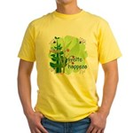 Pilates Svelte Happens Yellow T-Shirt