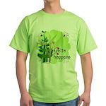 Pilates Svelte Happens Green T-Shirt